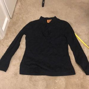 Tory Burch top with splits on both sides sz 2
